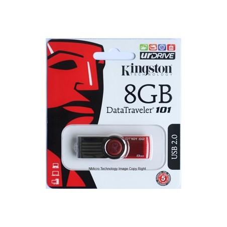 08Gb - Kingston DT100G3/8GB Usb 3.0