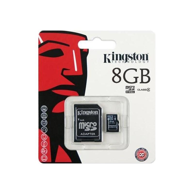 08Gb - Kingston SDC10/8GB