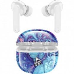 Auricolare BlueTooth True Wireless TWS in Ear Music Fant.FLUIDO