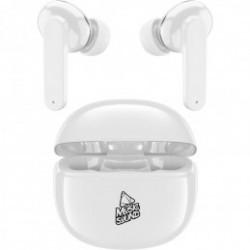 Auricolare BlueTooth True Wireless TWS in Ear Music White