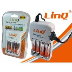 Caricatore AA/AAA + Batterie