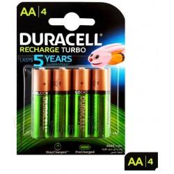 Duracell AA Plus Power (4pcs) - Ricaricabile 2500mAh - HR6