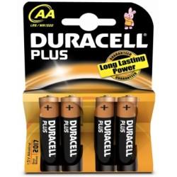 Duracell Pila Alcalina AA x4