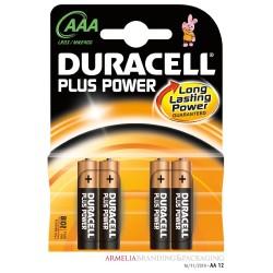 Duracell Pila Alcalina AAA x4 Simply