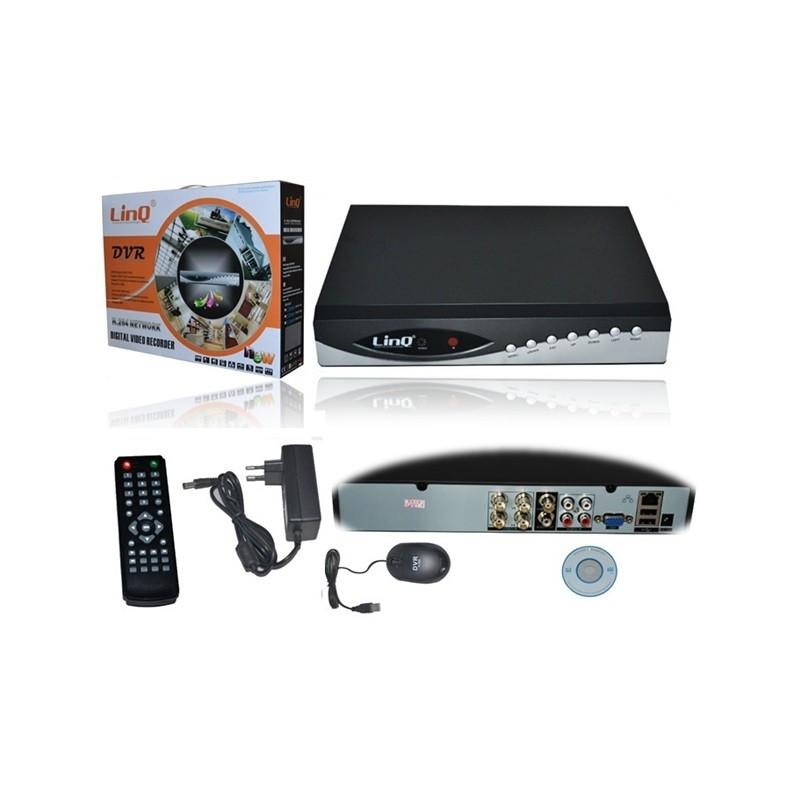 DVR H.264 960H LinQ 4CH [DVR-7104]