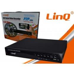 DVR H.264 AHD/960H/IP 4CH - Linq AHD-6104X