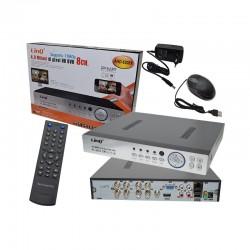 DVR H.264 AHD/960H/IP 8CH - Linq [AHD-6208X] 4MPx