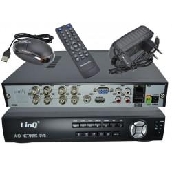 DVR H.264 AHD/960H/IP 8CH - Linq AHD-6108X