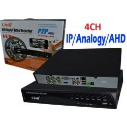 DVR H.264 AHD/960H/IP LinQ 4CH [AHD-7604]