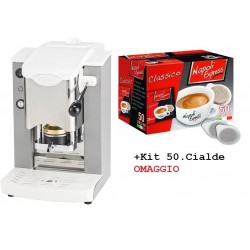 FABER Macchina Caffe Slot Plast - Col.Grigio-Bianco