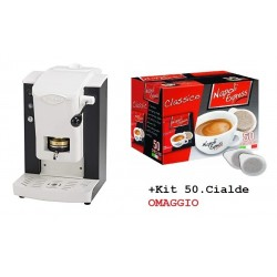 FABER Macchina Caffe Slot Plast - Col.Nero-Bianco