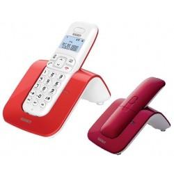 Telefono Cordless Saiet SLIDE Red