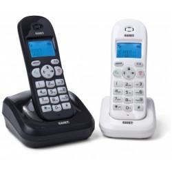 Telefono Cordless Saiet VEGA TWIN B&W