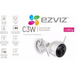 Videocamera Wi-Fi 1080p - Ezviz C3W